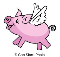 When Pigs Fly Clipart.