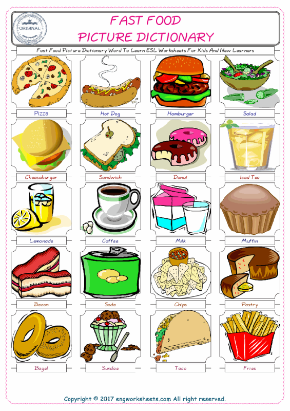 free food clipart for teachers.