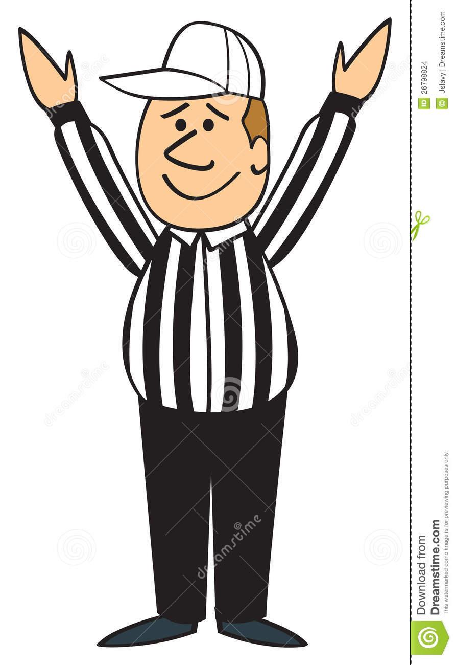 Showing post & media for Cartoon football referee clip art.