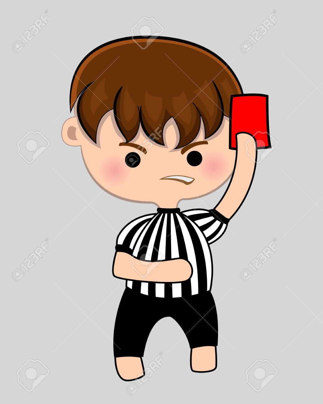 Free Football Referee Clipart.