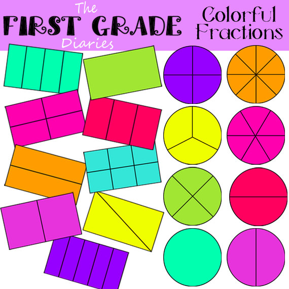 Fraction Clipart Free.