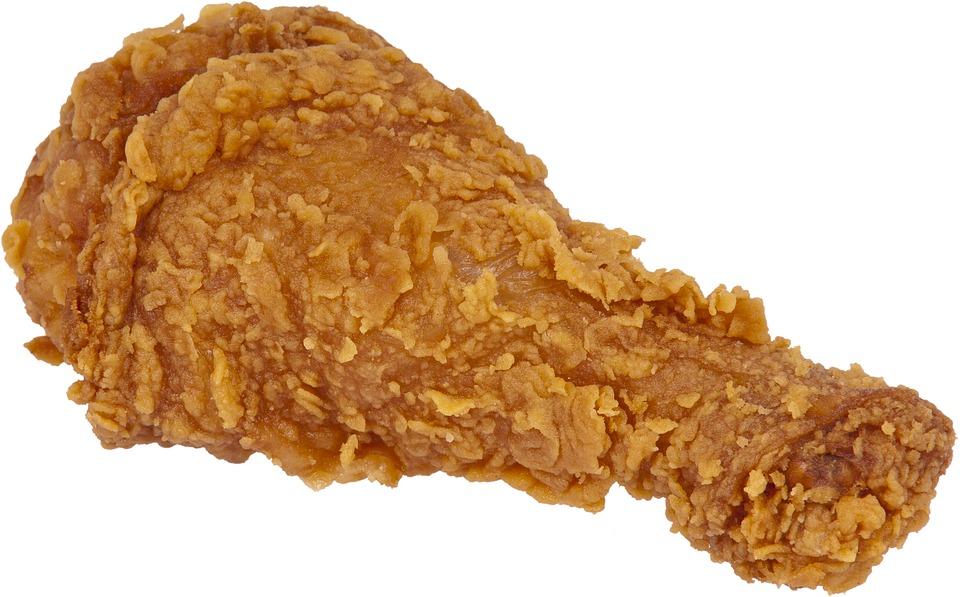 Fried, Chicken.