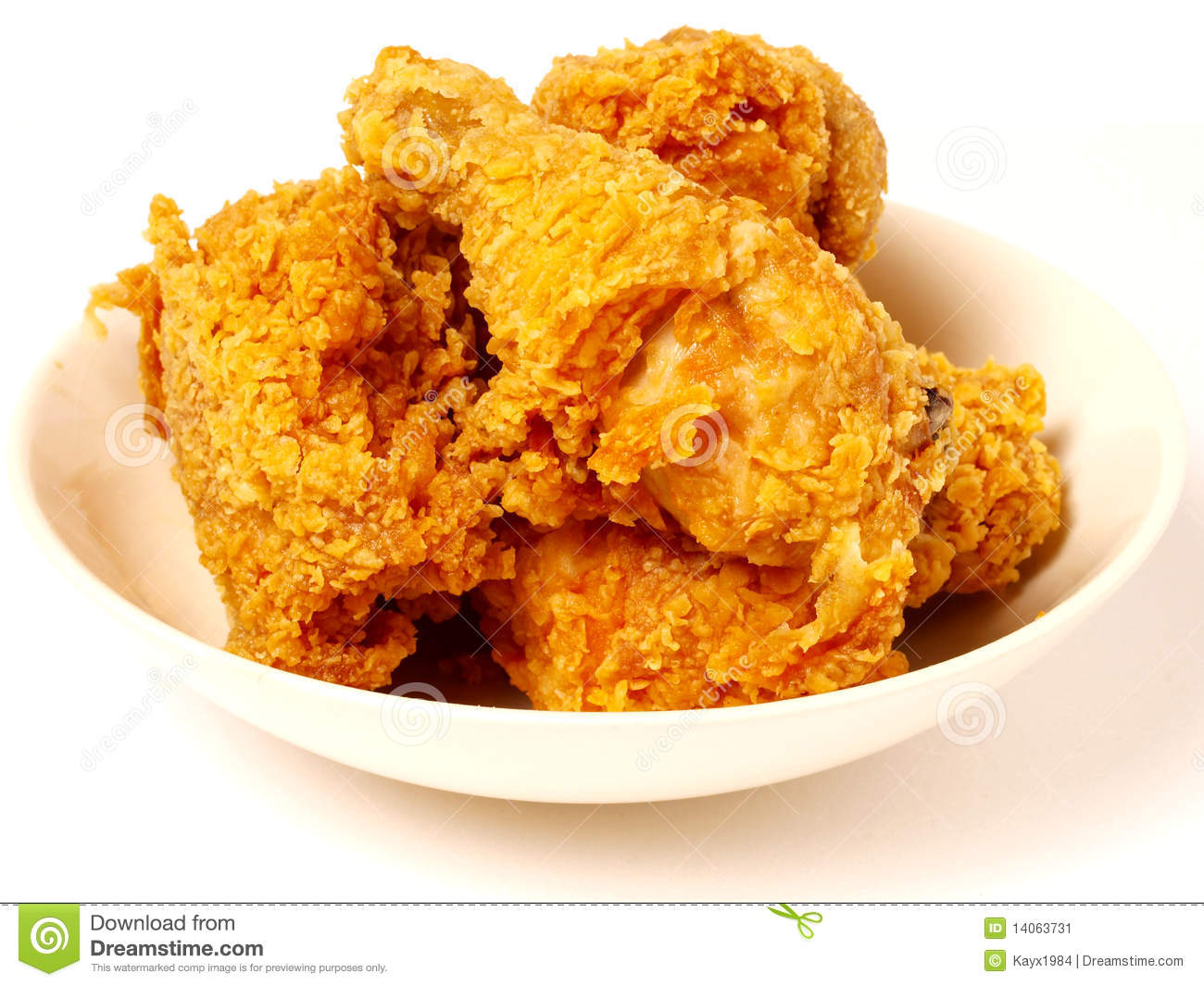 Free Fried Chicken Clipart.