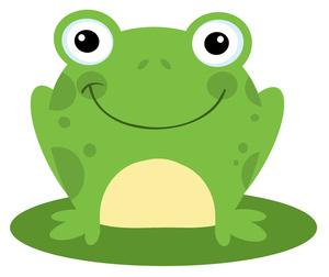 Free Cute Frog Clip Art.