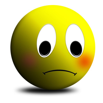 Happy and sad face clip art free clipart images 3.