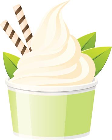 Frozen Yogurt Clip Art, Vector Images & Illustrations.