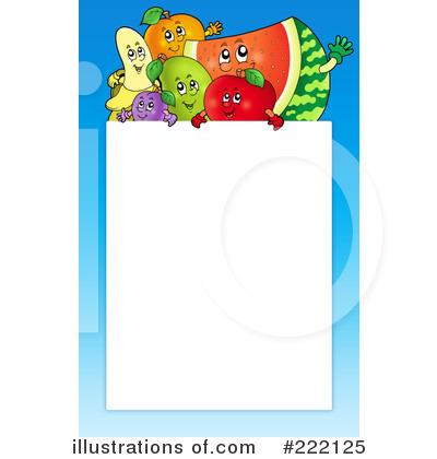 Fruit Clipart Border.
