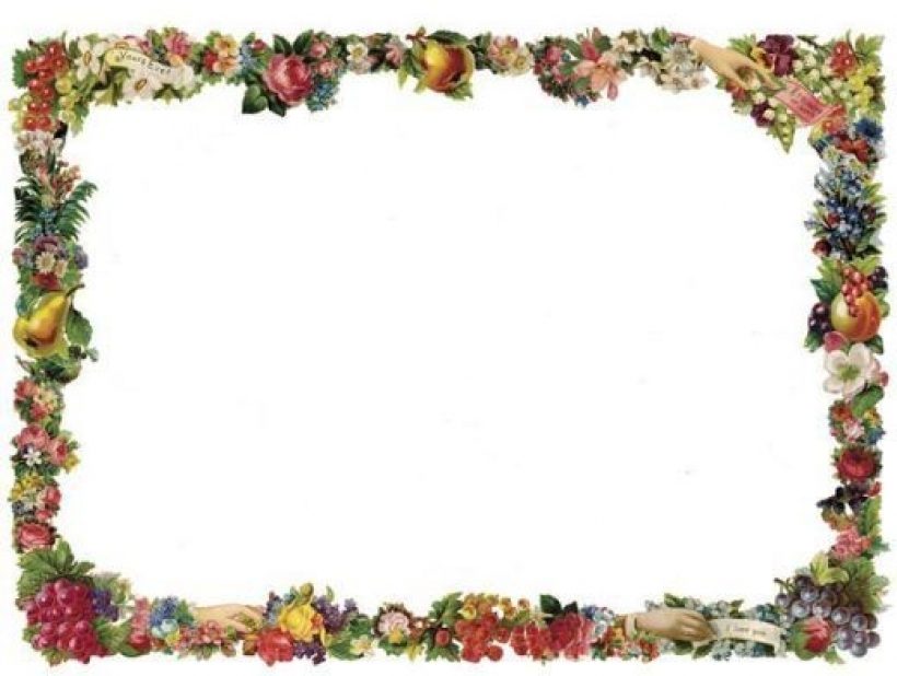 free victorian flowers and vintage fruit clip art and borders in.