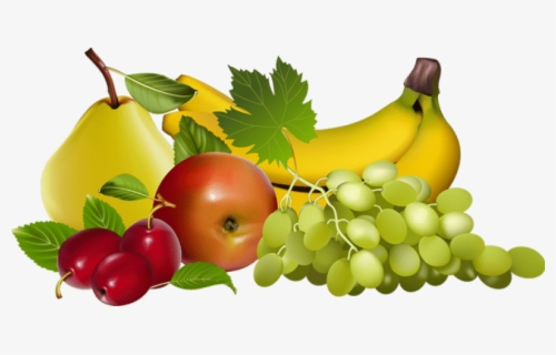 Free Fruits Png Clip Art with No Background.