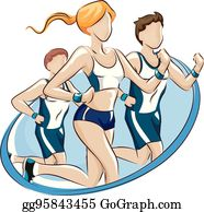 Fun Run Clip Art.