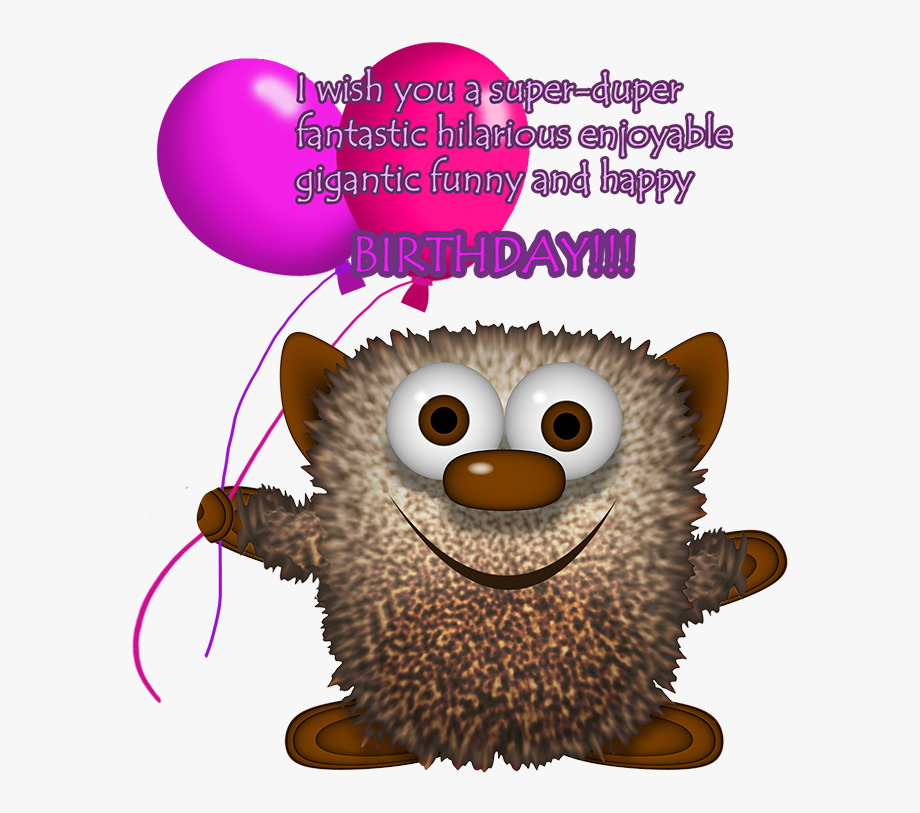 Monster Birthda Clipart Greeting.