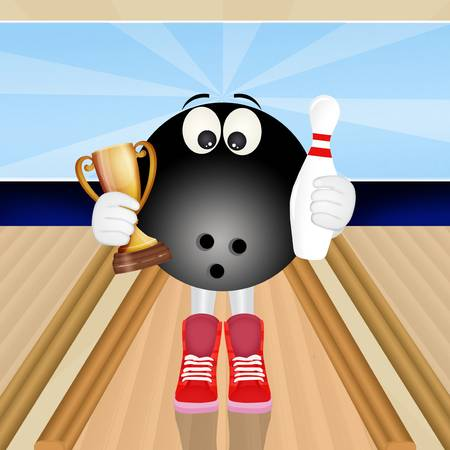 620 Funny Bowling Stock Illustrations, Cliparts And Royalty Free.