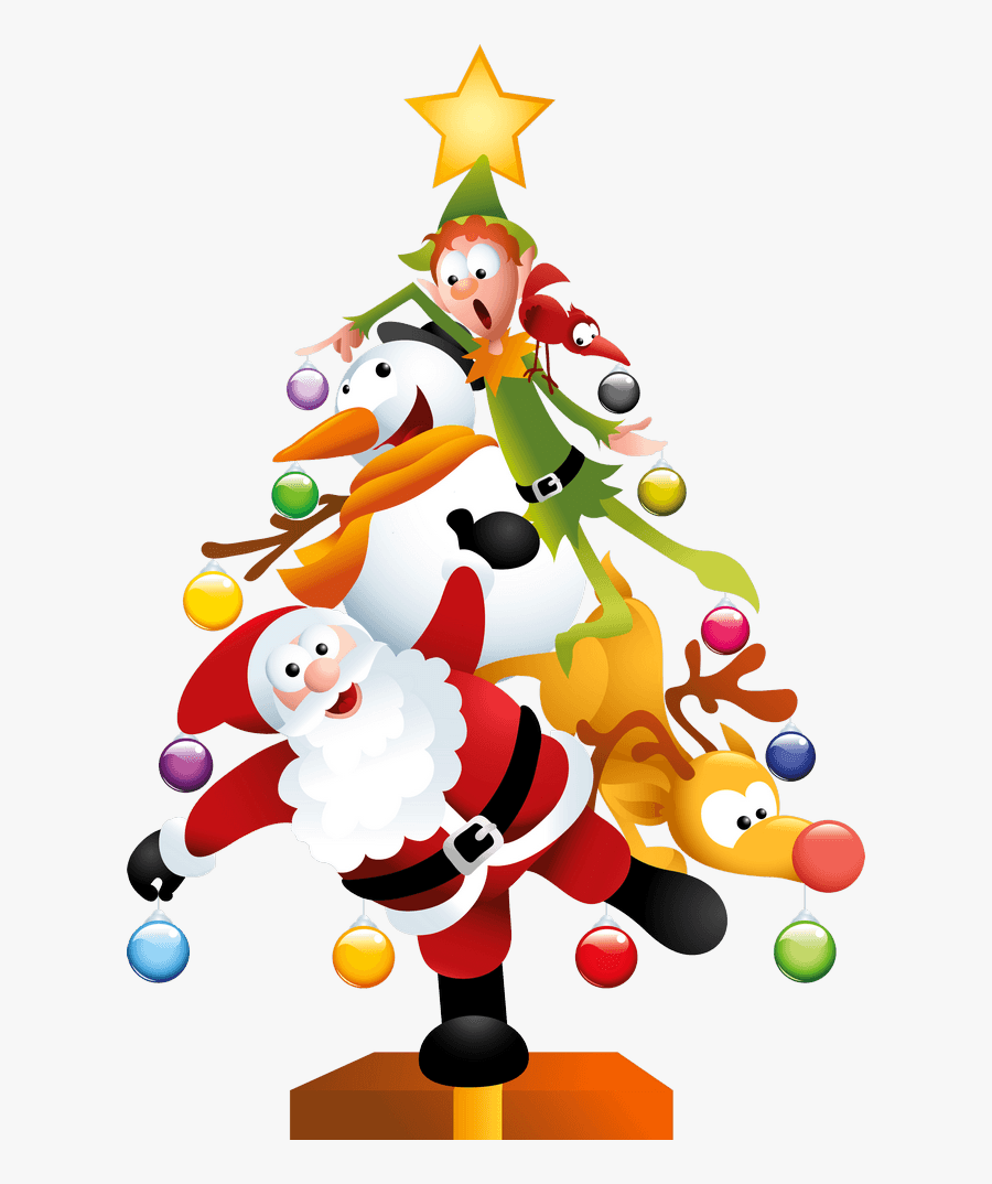 Disney Christmas Tree Clipart.