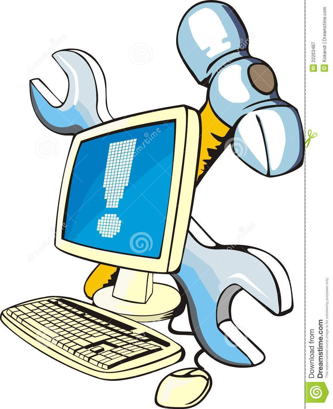 Free funny computer clipart 3 » Clipart Portal.