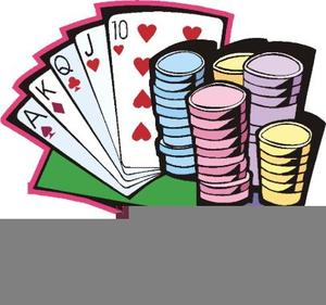 Animated Clipart Gambling.