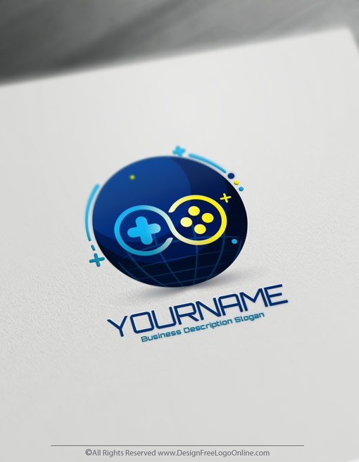 Free Gamer Logo Maker.