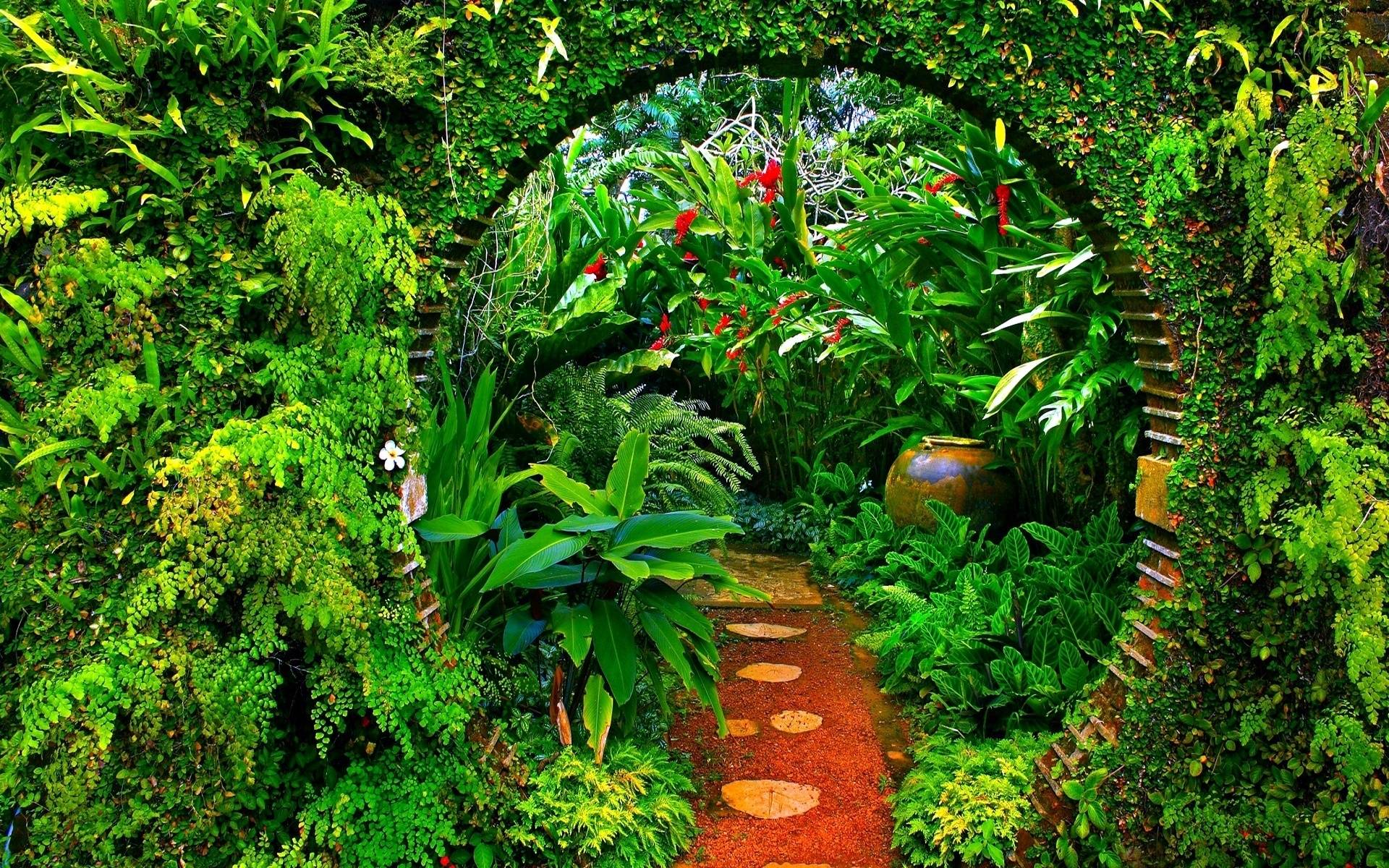 Free Garden Backgrounds.