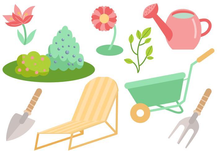 Free Garden Vectors.
