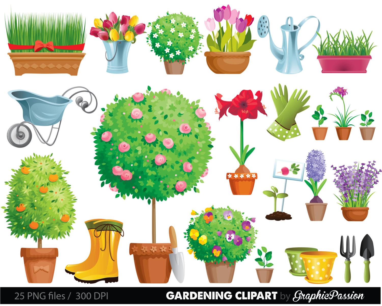 1775 Gardening free clipart.