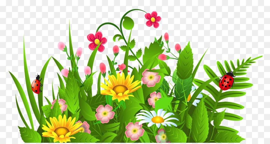 807 Flower Garden free clipart.
