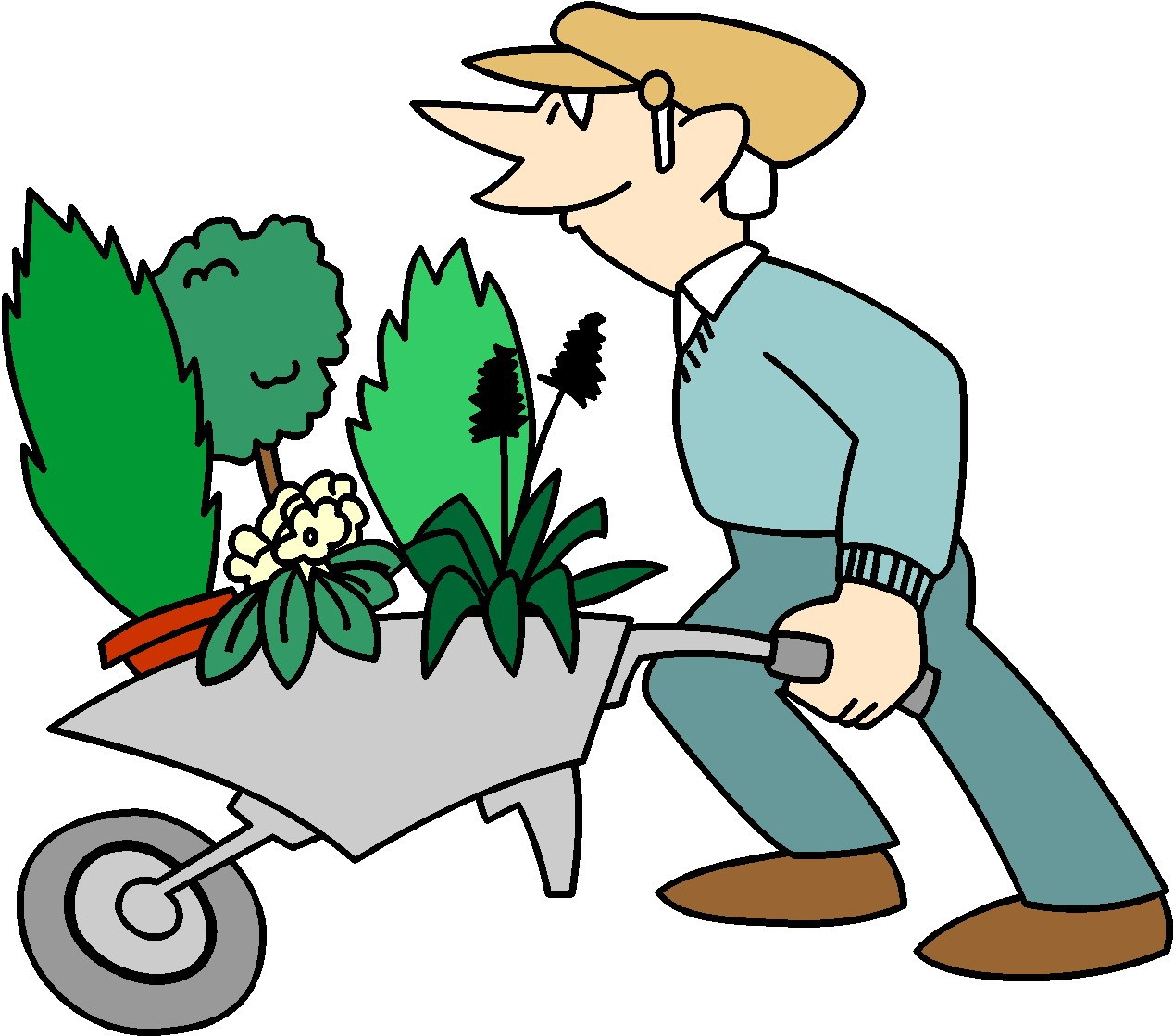 Free gardening clipart images 4 » Clipart Portal.