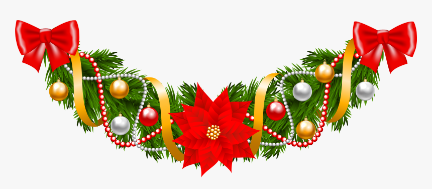 Garland Clipart Of Christmas Wreaths Image Clip Art.