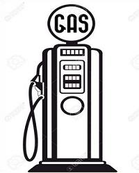 Collection of Gas pump clipart.