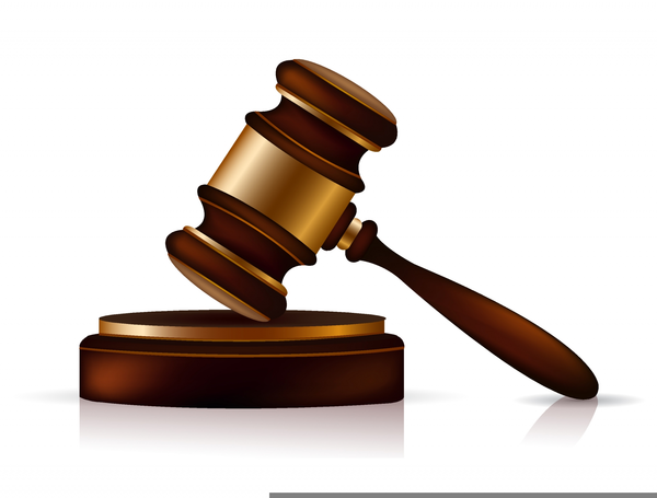 Free Clipart Judge Gavel.