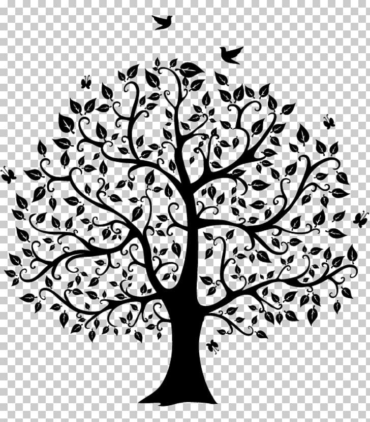 Family tree Genealogy , blackish PNG clipart.