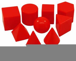 Free Geometric Shape Clipart.