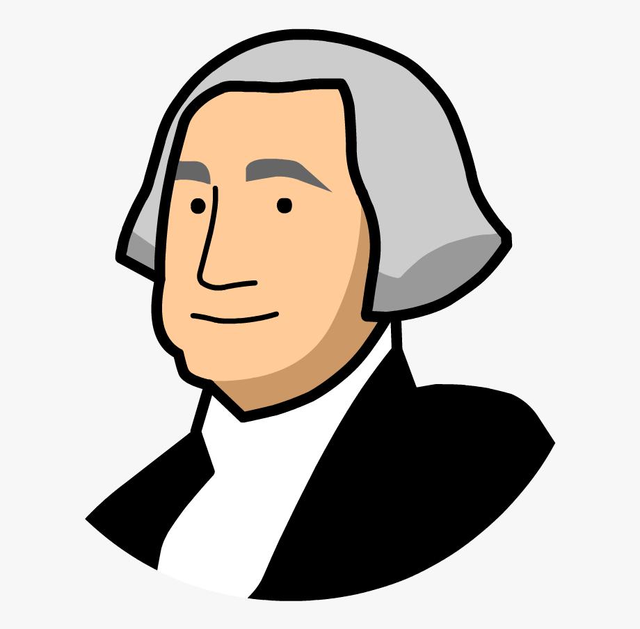 Cartoon George Washington Clipart , Transparent Cartoon.