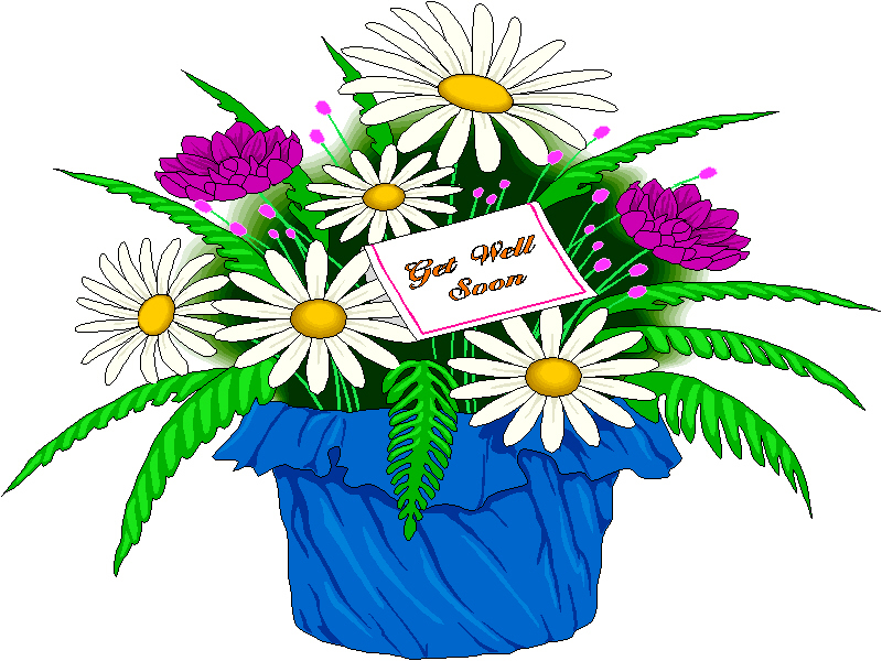 Free get well clipart 5 » Clipart Station.