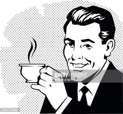 Clipart Man Coffee Getty Images.