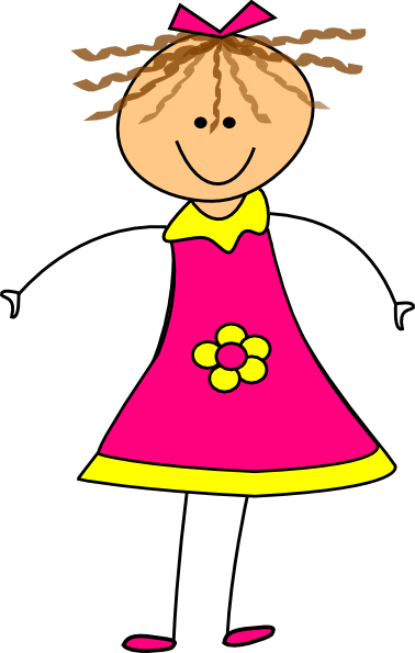 Girl clipart free images 6.