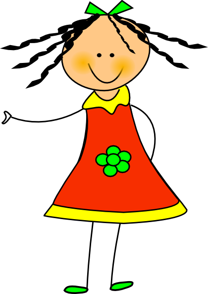 Happy Girl Clipart Free.