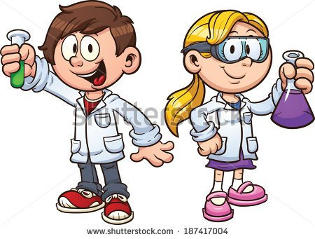 Girl Mad Scientist Clipart#2189884.