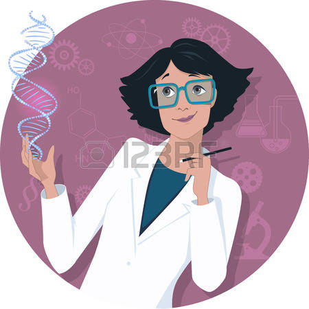 1,604 Female Scientist Stock Vector Illustration And Royalty Free.