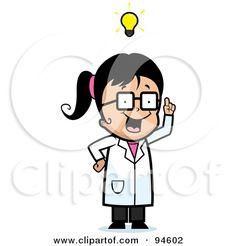 mad scientist drawing.