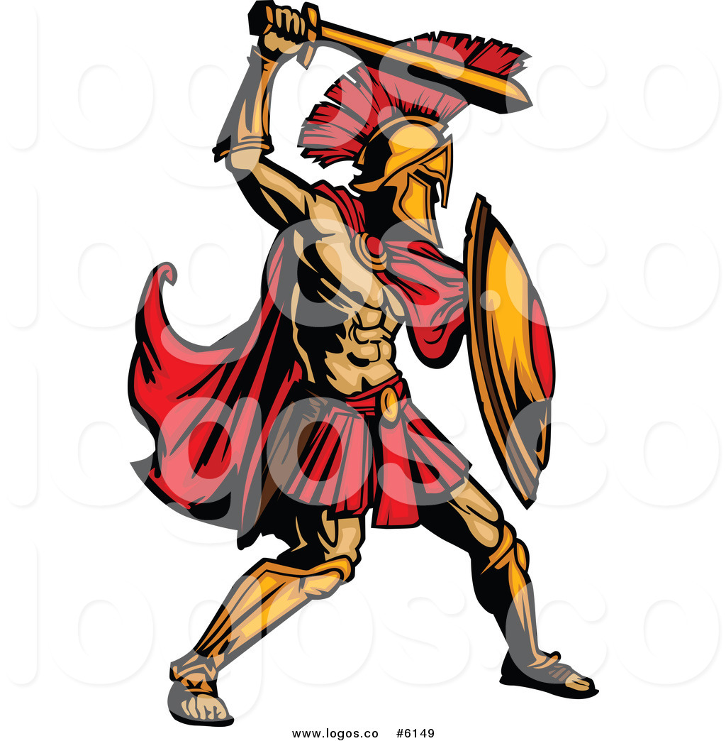 Gladiators Clipart.