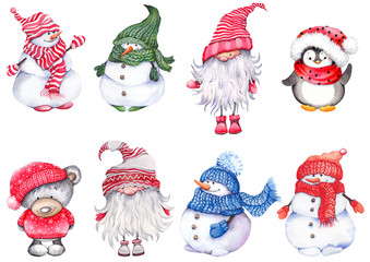 Gnome Clipart photos, royalty.