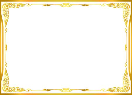 117,877 Gold Border Cliparts, Stock Vector And Royalty Free Gold.