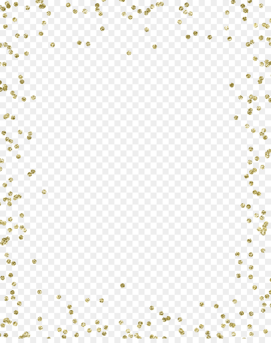 Gold Confetti Background png download.