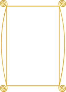Frame Clipart Gold.