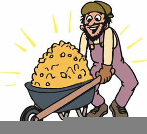 Free Gold Miner Clipart.