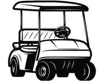 Cliparts Library: Cart Clipart Golf Best Golf Cart.