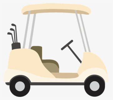 Free Golf Carts Clip Art with No Background.