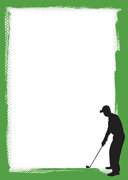 Best Golf Borders Illustrations, Royalty.