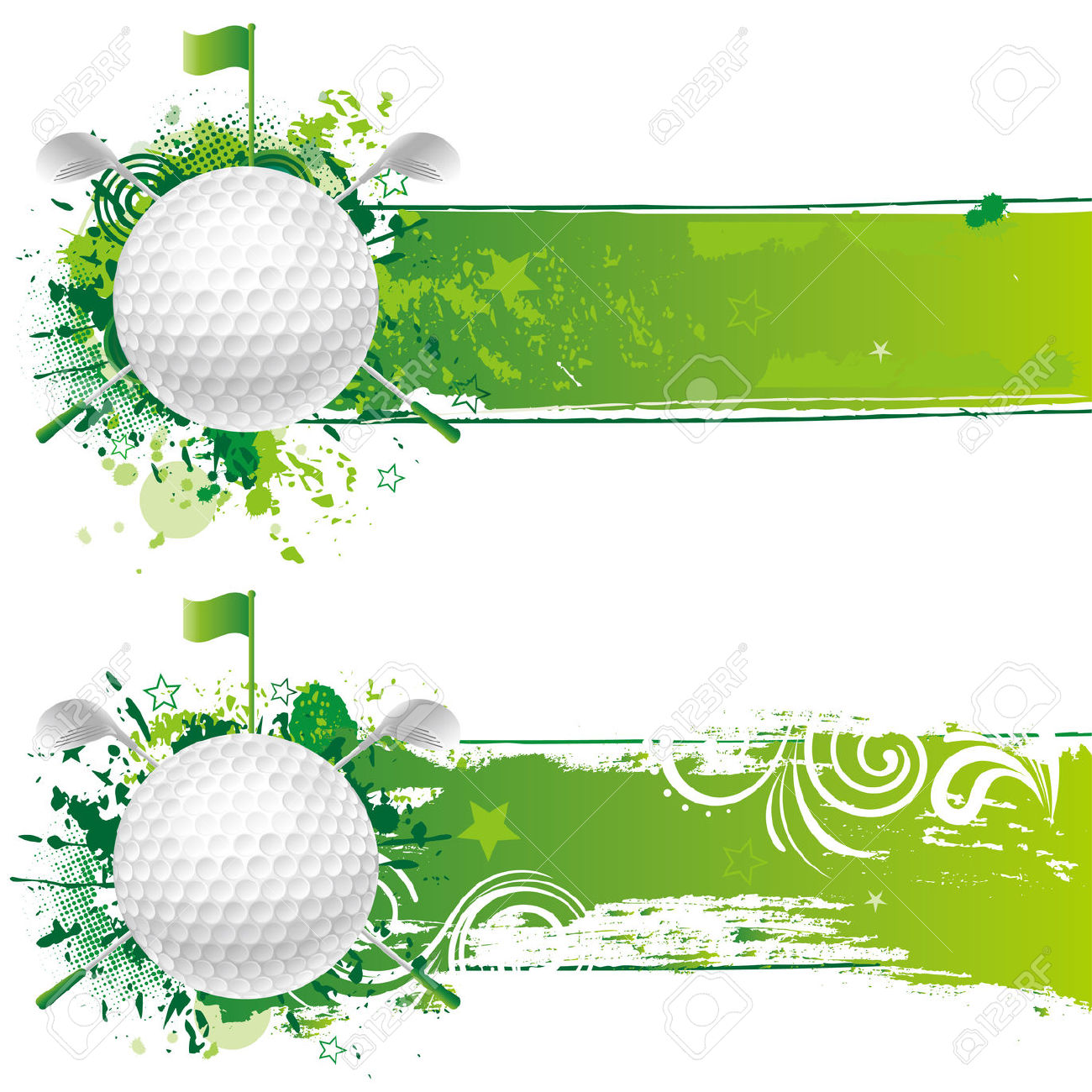 Best Golf Border Clip Art #15372.