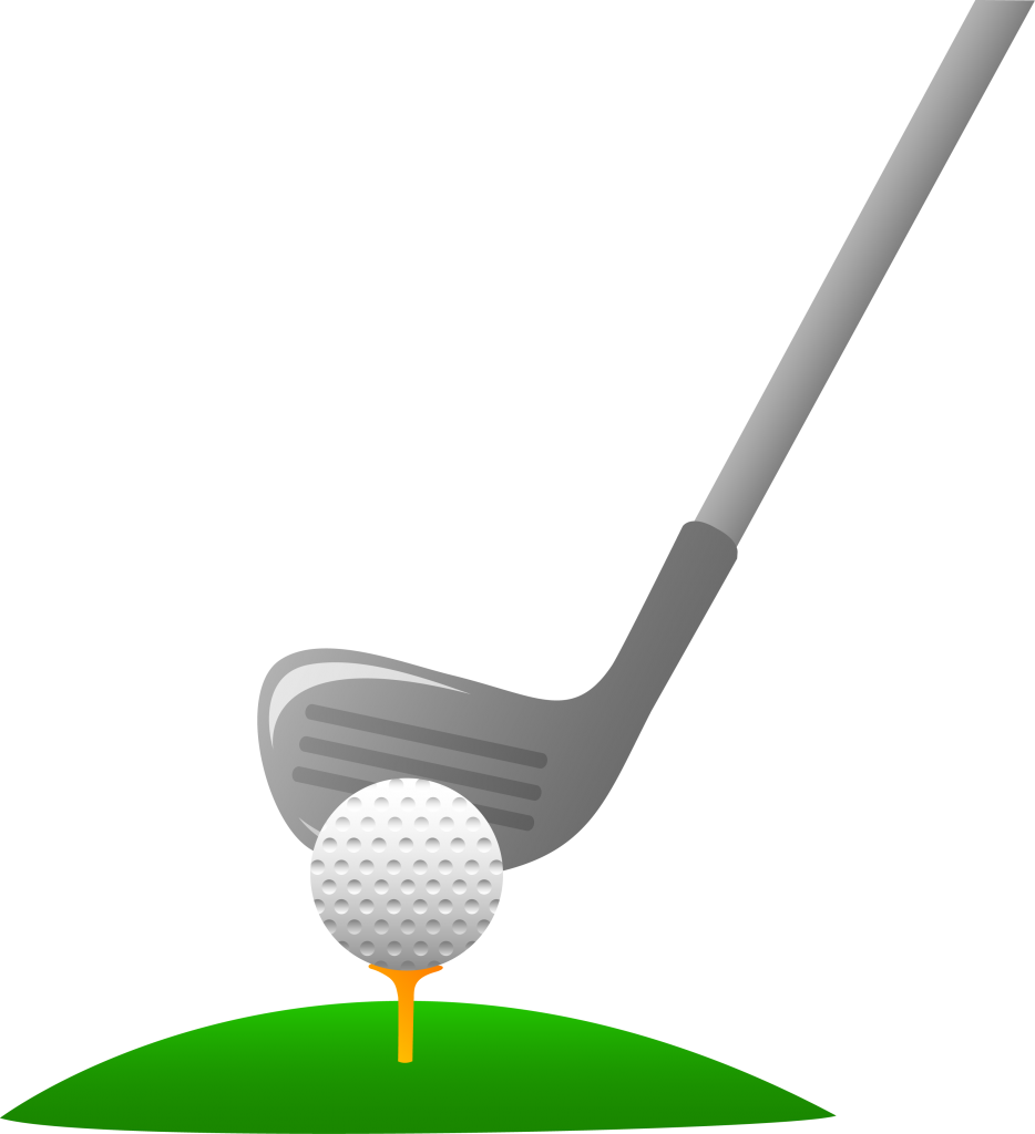 Golf clip art black and white free clipart images 2.