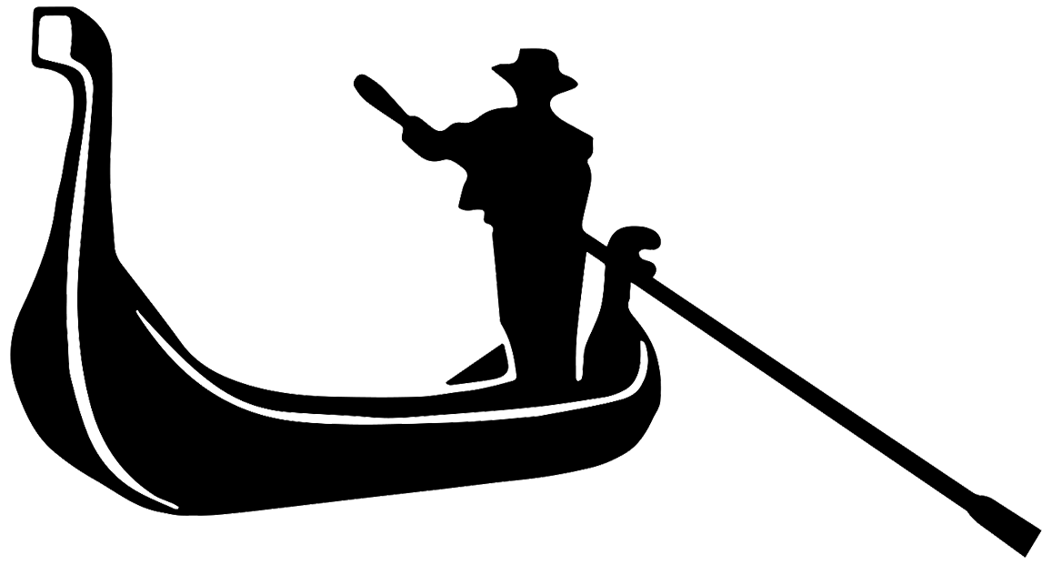 Venice Gondola Drawing.